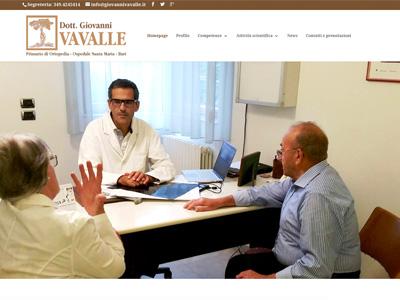 Dott. Giovanni Vavalle - Ortopedico