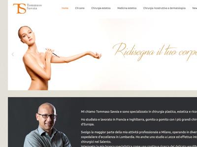 Dott. Tommaso Savoia - Chirurgo Plastico